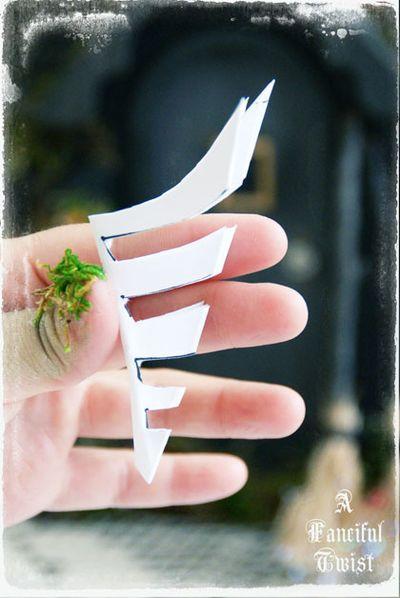 Paper spider web 15