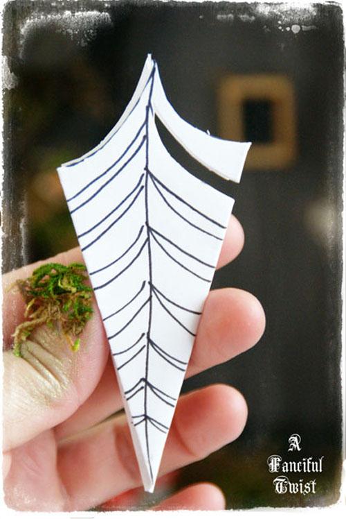 Paper spider web 34