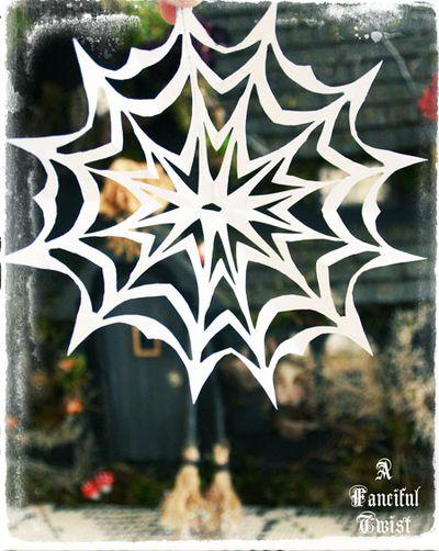 Paper spider web 37