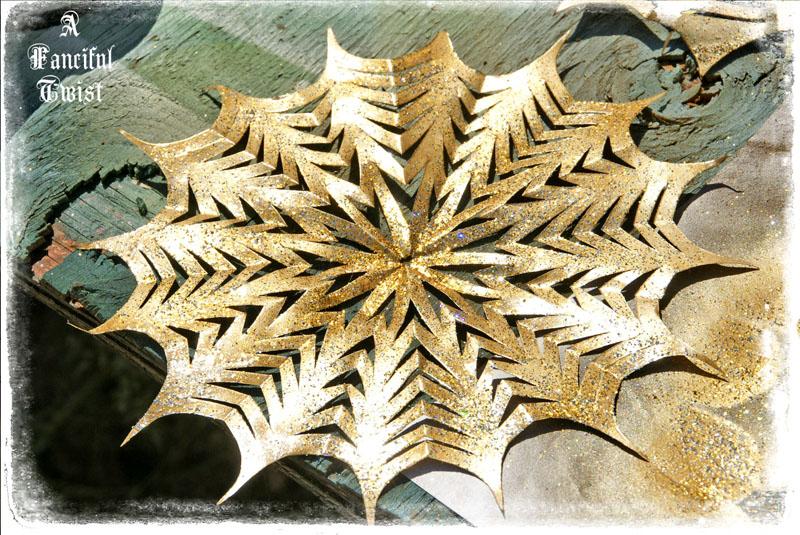 Paper spider web 41
