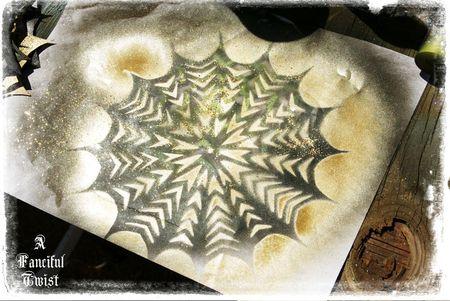 Paper spider web 42