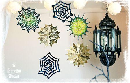 Paper spider web 38