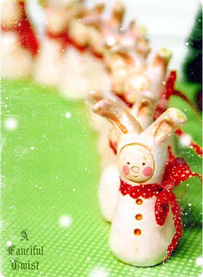 Christmas Bunny 5