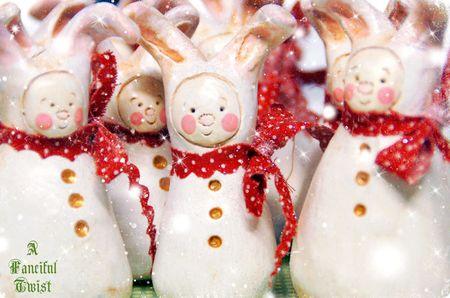 Christmas Bunny 4
