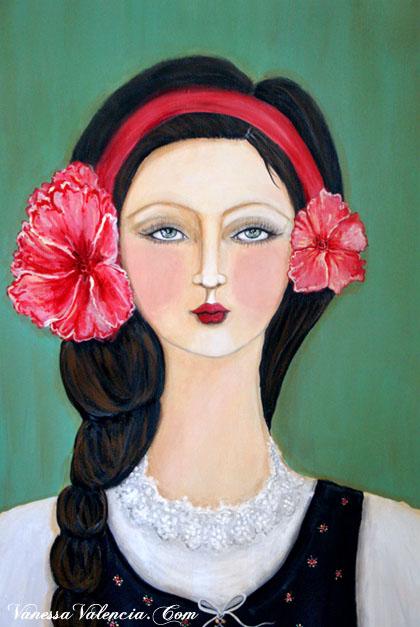 Flora Gypsy Girl 2
