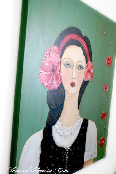Flora Gypsy Girl 12a