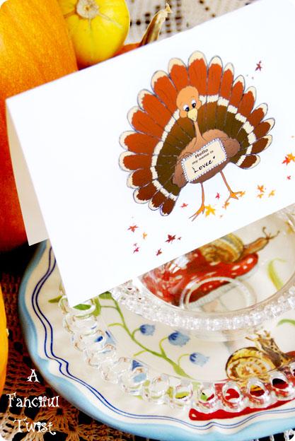 Thanksgiving Turkey Bird 6