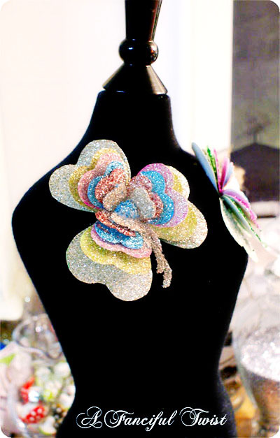 Shamrock brooch tutorial a fanciful twist