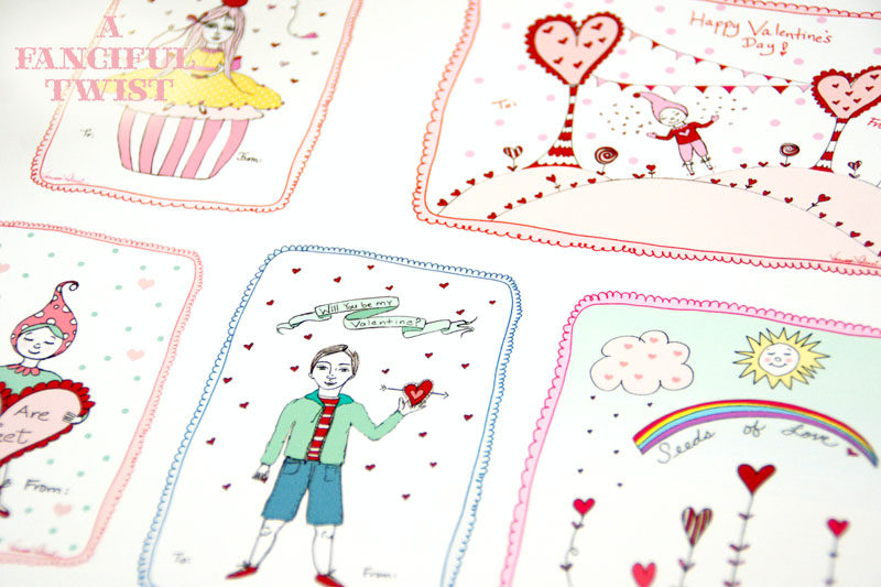 A Fanciful Twist Valentines 1