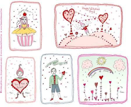 A fanciful twist 2011 valentines