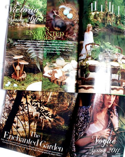 Enchanted Spring 2011 Victoria and Vogue
