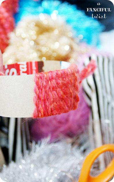 Yarn bracelets 4