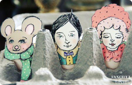 Cutie puppet heads 16