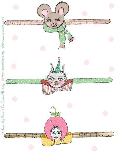 A Fanciful Twist Cutie Puppet Heads 1