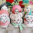 Cutie Paper Puppet Heads