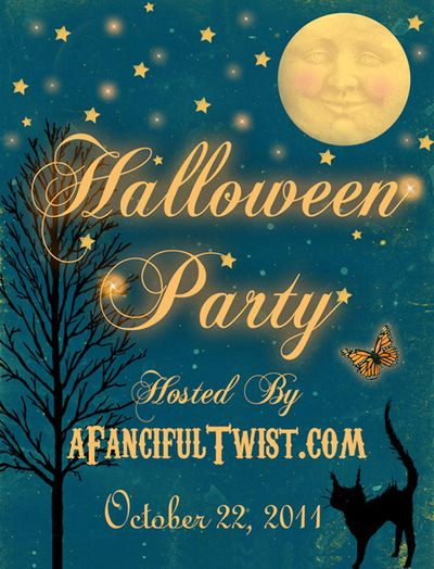 A Fanciful Twist Halloween Flyer 2011