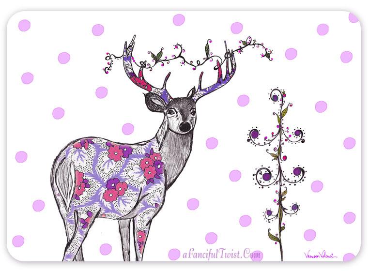 Lovely Deer Front
