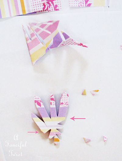 Paper snowflakes 31a