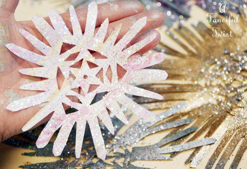 Paper snowflakes 11a