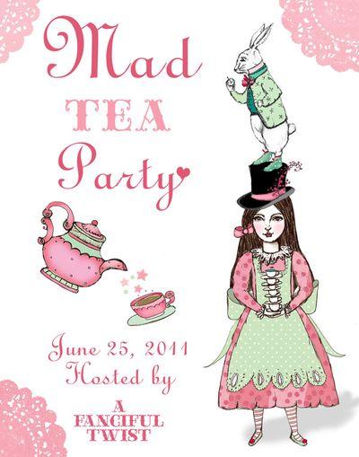Mad Tea Party 2011 Flyer