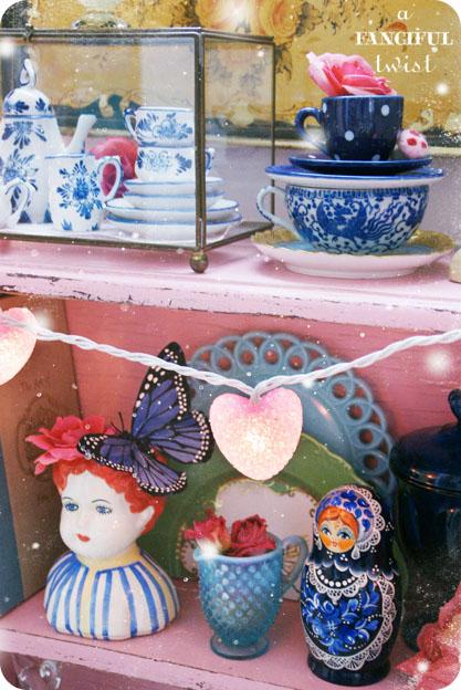 Pink and cobalt blue love 2