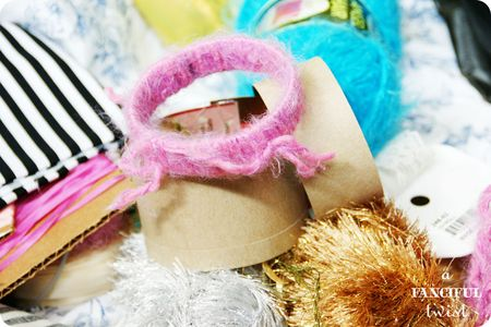 Yarn bracelets 5