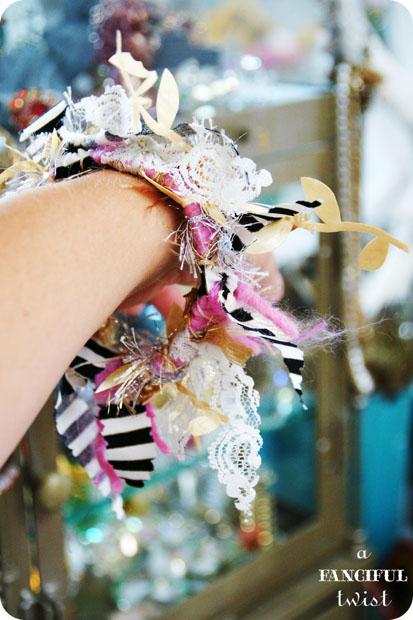 Yarn bracelets 9