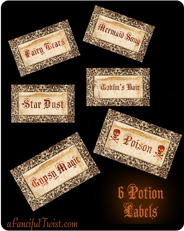 A fanciful twist witchs apothecary potions and spells