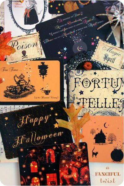 Halloween Card Decor 12