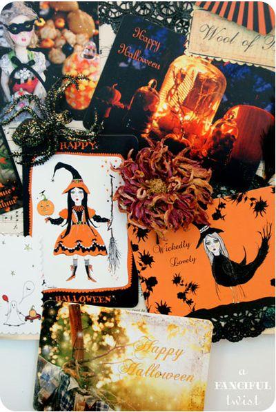 Halloween Card Decor 15