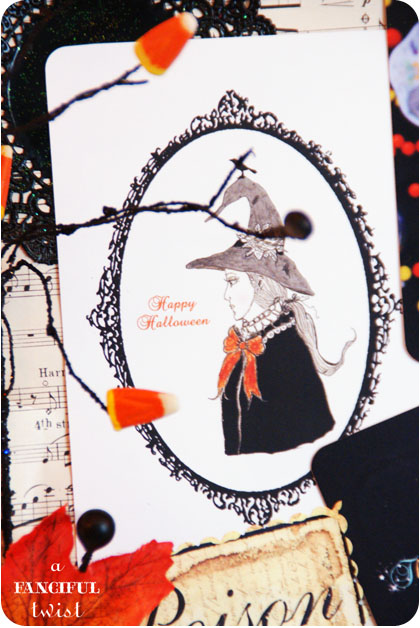 Halloween Card Decor 2