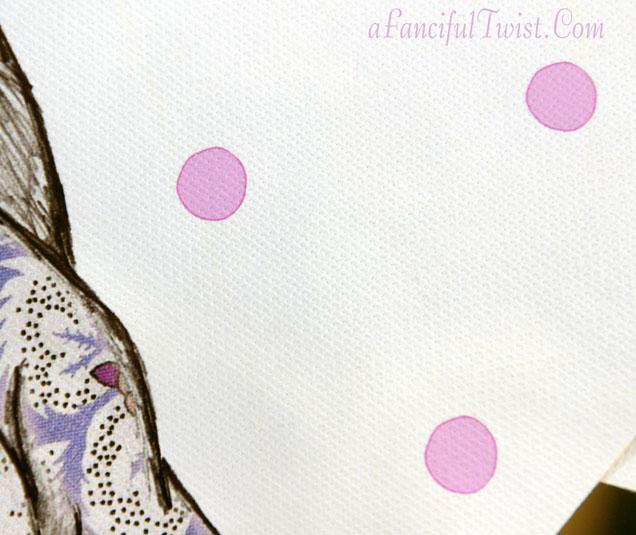Print Sample Canvas Upclose