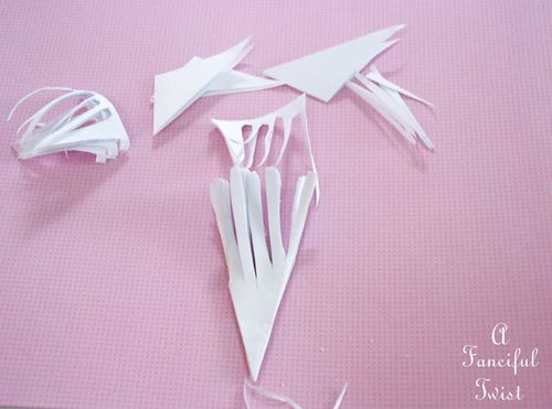Paper snowflakes 41a