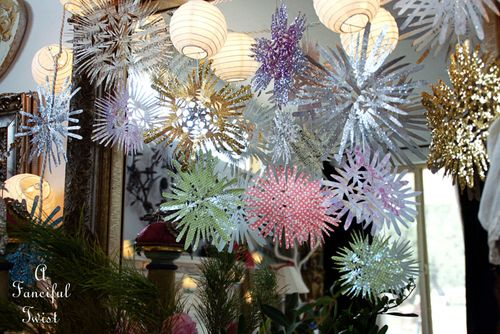 Paper snowflakes 1a