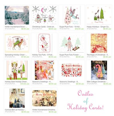 Holiday Cards Menagerie 2