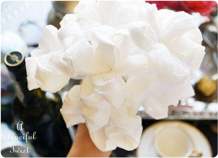 Toilet paper flowers 9