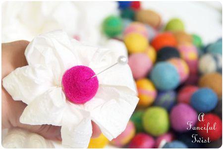 Toilet paper flowers 8