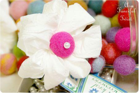 Toilet paper flowers 6