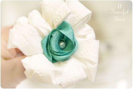 Toilet paper flowers 4