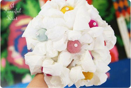 Toilet paper flowers 3