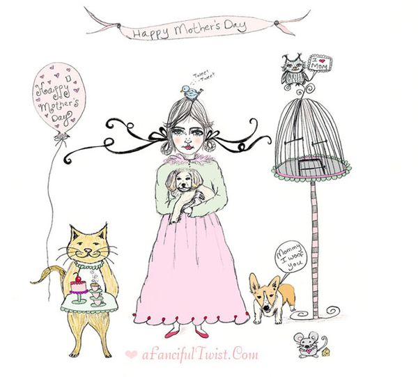 Fanciful Mother's Day Blog