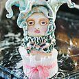 Penelope Blueberry Raspberry Ruffled Cream Cake 1