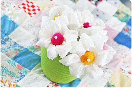 Toilet paper flowers 2