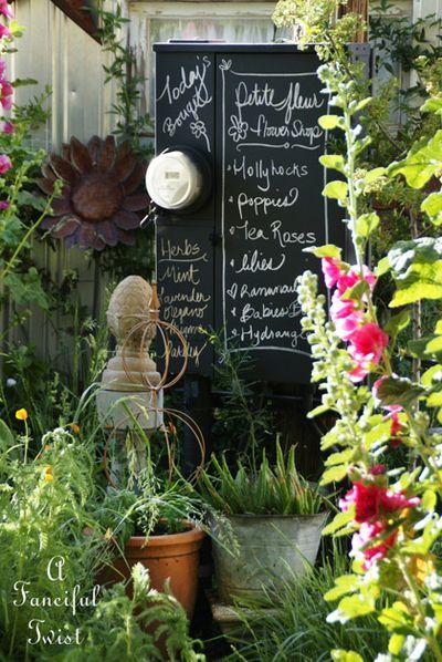 Hollyhock Garden 1a