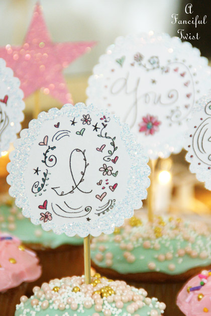 Cupcake toppers 4