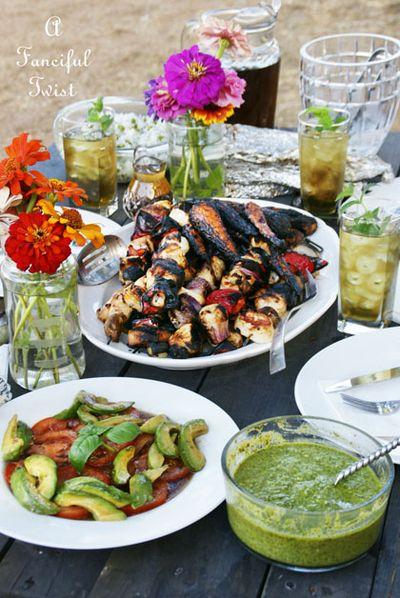 Summer harvest feast 13