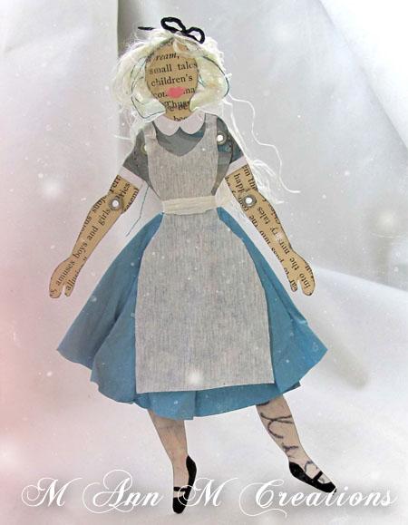 M ann m creation alice paper doll