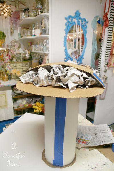 Papier Mache Mushroom 11