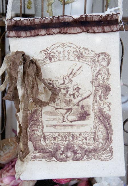 Kathy creative home alice in wonderland purse