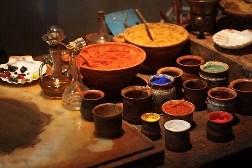 Making oil paints